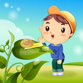 Хлопчик і природа